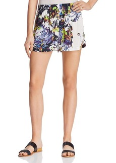 FRENCH CONNECTION Kiki Palm Printed Shorts