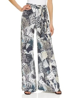 FRENCH CONNECTION Lala Tropical Print Pants