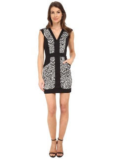 French Connection Leopard Moth Cotton Dress 71EGP