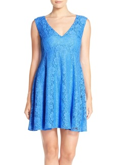 French Connection 'Lizzie' Lace Fit & Flare Dress