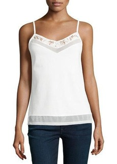 French Connection Lucky Lace-Trimmed Camisole