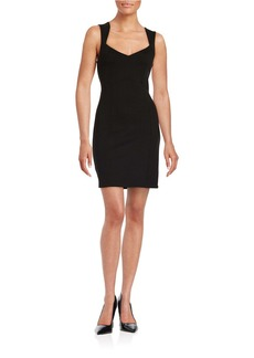 FRENCH CONNECTION Lula Stretch Sheath Dress
