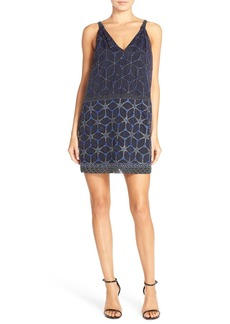 French Connection 'Madeline Mosaic' Sleeveless Sheath Dress