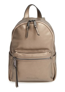 French Connection 'Mini Perry' Faux Leather Backpack