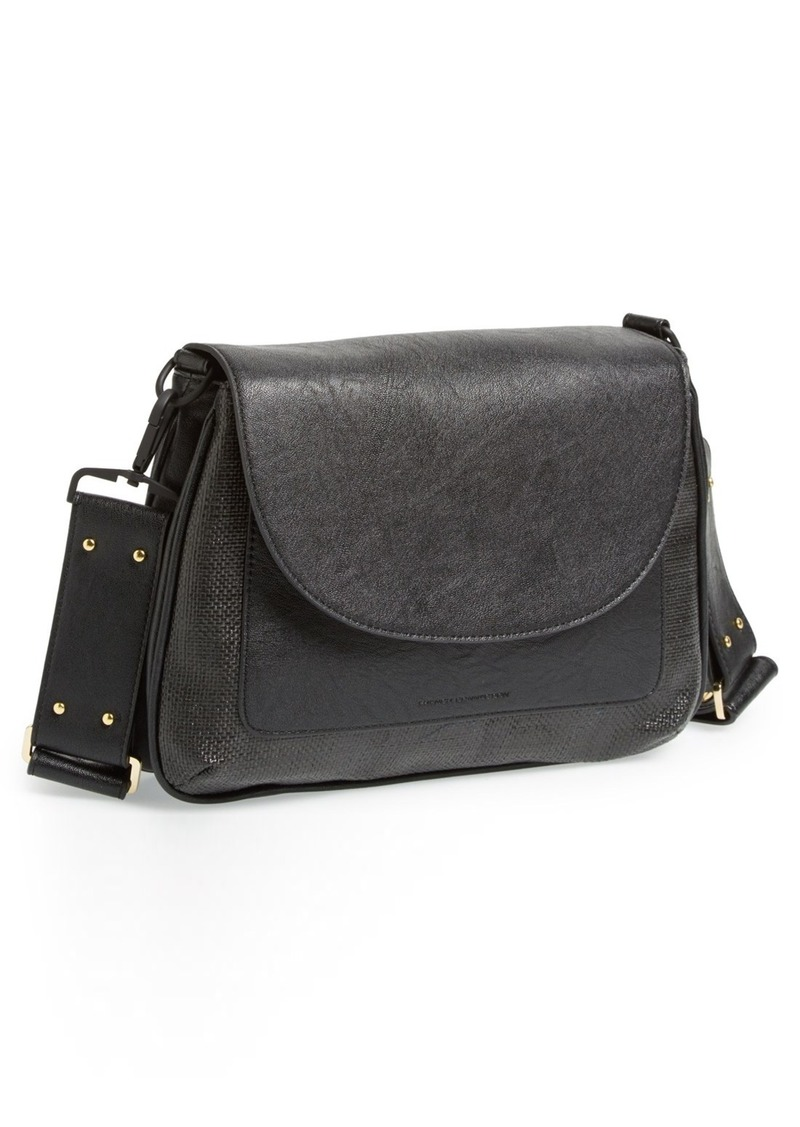 French Connection 'Mod Squad' Faux Leather Shoulder Bag
