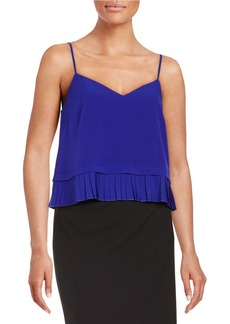FRENCH CONNECTION Pleat-Hem Camisole