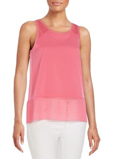 French Connection Polly Sheer-Hem Tank
