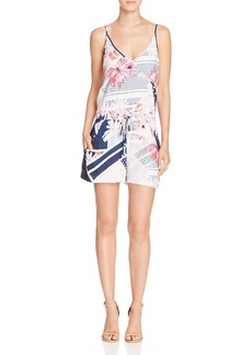 FRENCH CONNECTION Samba Avenue Printed Romper