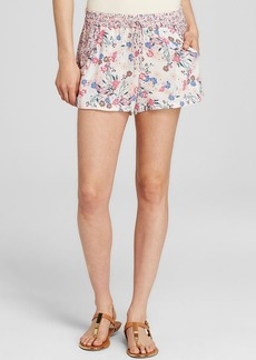 FRENCH CONNECTION Water Garden Floral Print Shorts