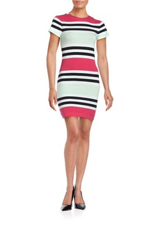 FRENCH CONNECTION Striped Knit Dress