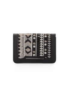 French Connection Vanessa Sequined Clutch Bag