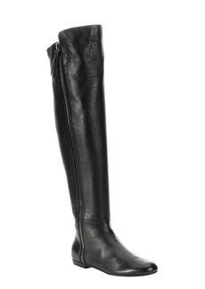 Giuseppe Zanotti black leather 'Balet' side zip o...