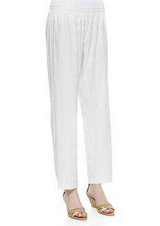 Go Silk Linen Slim Pants