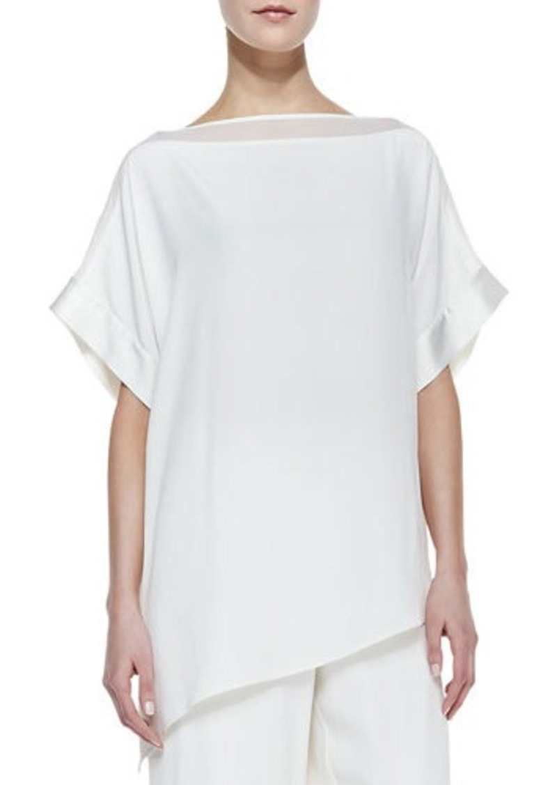 Go Silk Silk Boat-Neck Easy Tunic, Women's