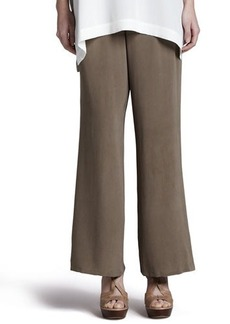 Go Silk Silk Full-Leg Pants