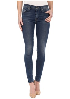 Hudson Barbara High Waist Super Skinny in Moonlet