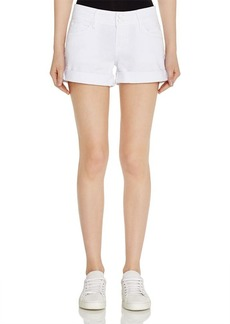 Hudson Croxley Sig Shorts in White