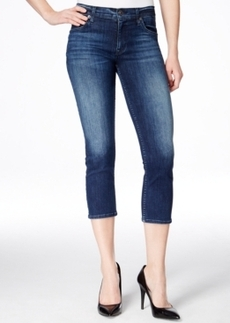 Hudson Jeans Fallon Cropped Canal Wash Skinny Jeans