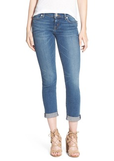 Hudson Jeans 'Ginny' Rolled Crop Jeans (Point Break)