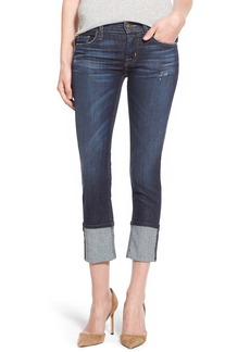 Hudson Jeans 'Muse' Cuff Crop Jeans