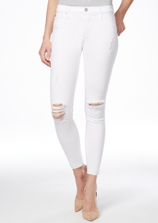 Hudson Jeans Nico Ripped Ankle Skinny Dreamer Wash Jeans