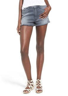 Hudson Jeans 'Tori' High Rise Cutoff Denim Shorts