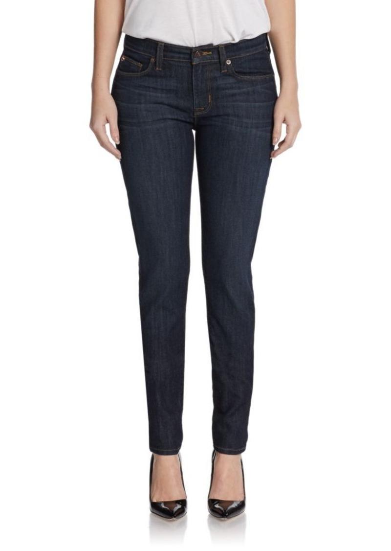 Hudson Jeans Hudson Mid-Rise Super Skinny Jeans
