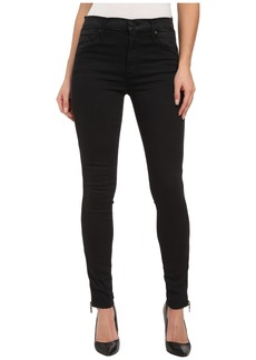 Hudson Shade High Waist Ankle w/ Zips in Rendezvous