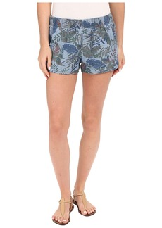 Hudson Siouxsie Printed Dophin Shorts in Forge