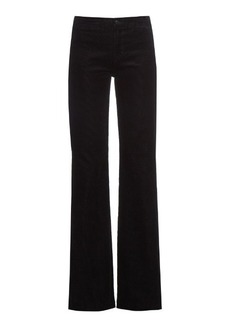 J Brand High-rise flared corduroy trousers