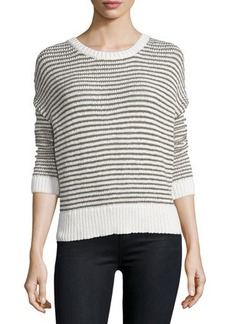 J Brand Jeans Alexandria Striped Long-Sleeve Sweater