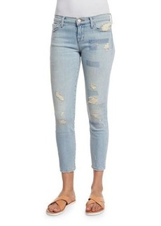 J Brand Jeans Low-Rise Cropped Jeans