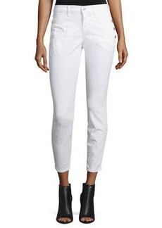 J Brand Jeans Xo Zion Mid-Rise Skinny Cropped Jeans