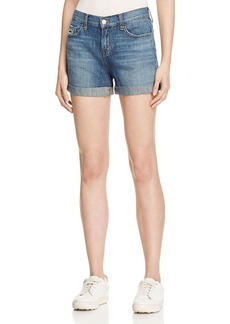 J Brand Joey Cutoff Denim Shorts in Westerly