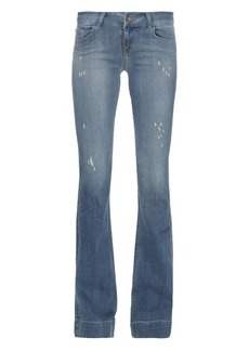 J Brand Lovestory low-rise flared jeans