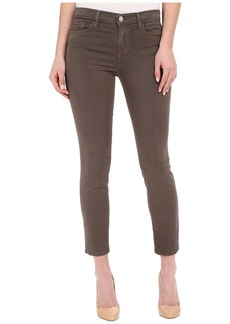J Brand Mid-Rise Capris in Trooper
