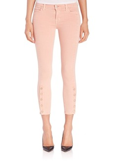 J BRAND Suvi Cropped Utility Jeans