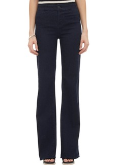 J Brand 2387 Tailored High-Rise Flare Jeans