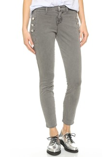 J Brand Zion Mid Rise Skinny Jeans