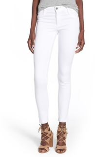 James Jeans Ankle Five-Pocket Leggings (White Clean)