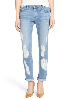 James Jeans Distressed Slim Boyfriend Jeans (Joy Ride)