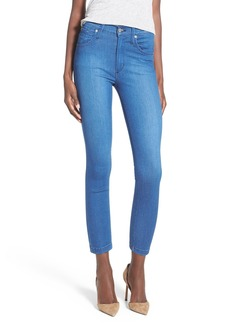 James Jeans High Rise Crop Denim Leggings (Malibu)