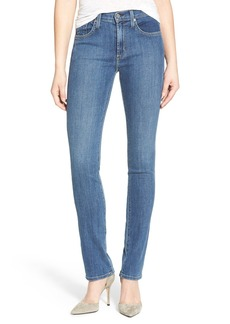 James Jeans Straight Leg Jeans (Petite)