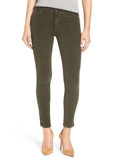 James Jeans 'Twiggy' Corduroy Ankle Skinny Jeans (Deep Army)