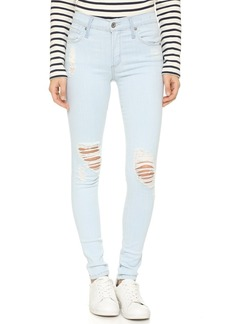 James Jeans Twiggy Distressed 5 Pocket Legging Jeans