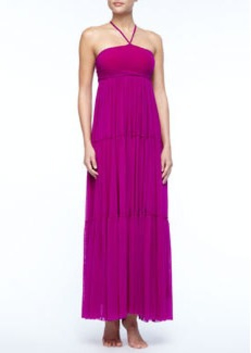Jean Paul Gaultier Tiered Jersey Maxi Dress   Tiered Jersey Maxi Dress