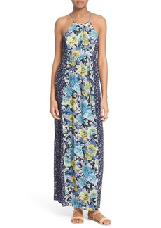 Joie 'Annati' Floral Print Silk Maxi Dress