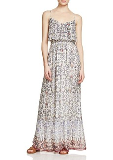 Joie Balla B Printed Silk Maxi Dress
