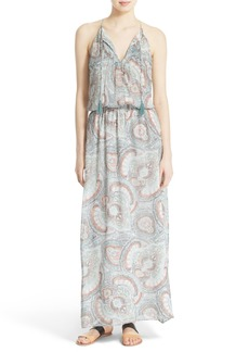 Joie 'Jossa B' Print Silk Maxi Dress