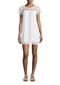 Joie Kastra Embroidered Lace Dress  Kastra Embroidered Lace Dress